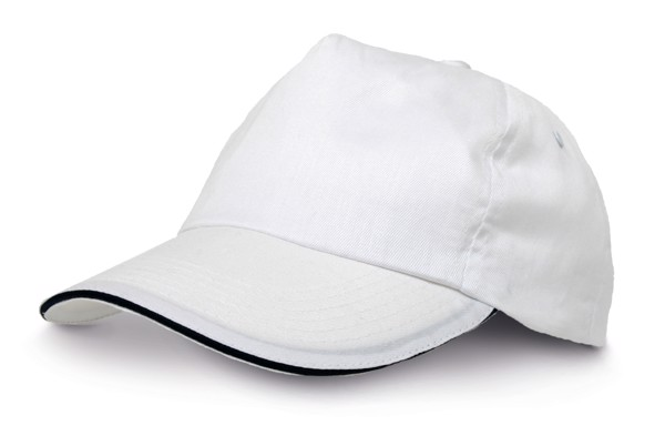 CLAIRE. Baseballová čepice - Bílá