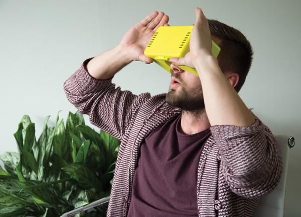 Bővíthető VR szemüveg
