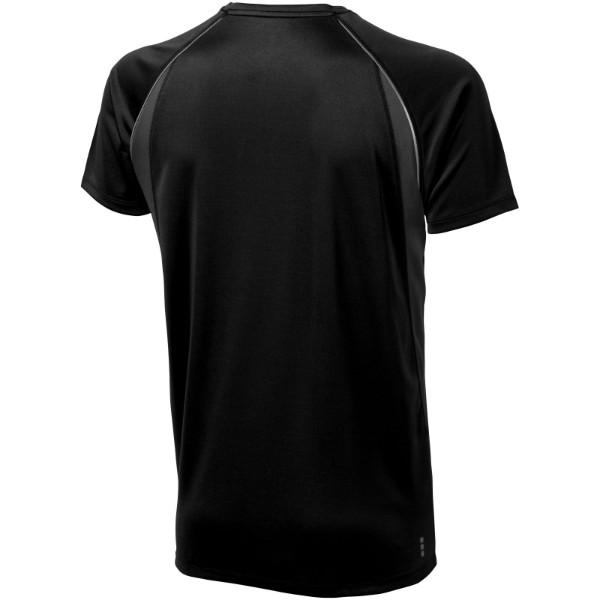 Pánské Tričko Quebec s krátkým rukávem, cool fit - Černá / Anthracitová / XXL