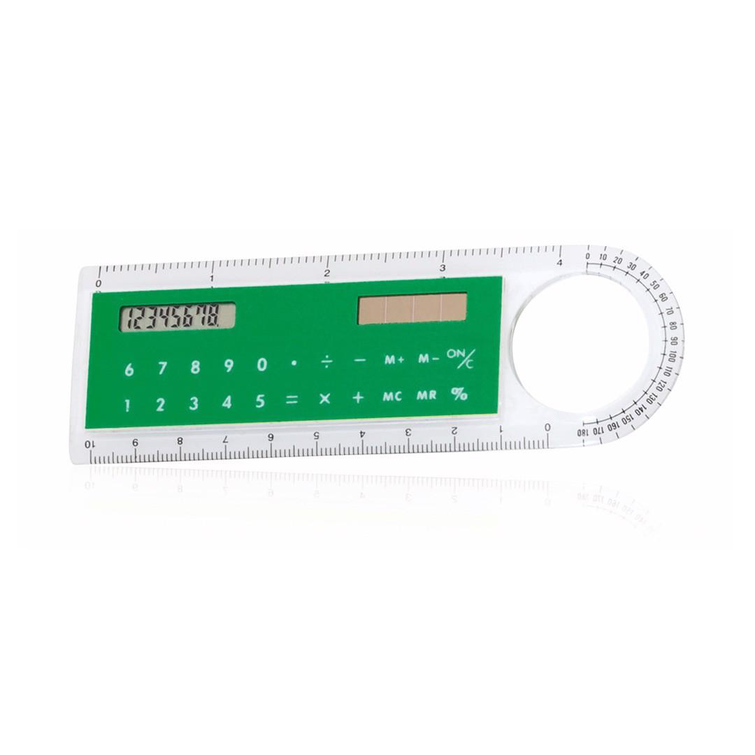 Regla Calculadora Mensor - Verde