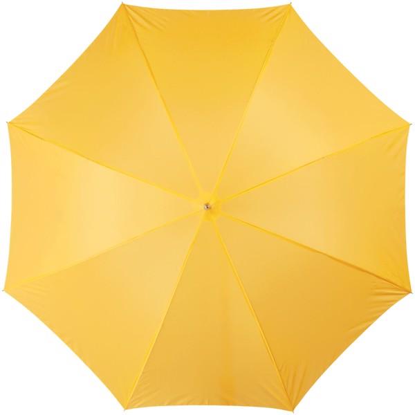 """23"""" deštník Lisa s automatickým otvíráním a dřevěnou rukojetí - Žlutá"""