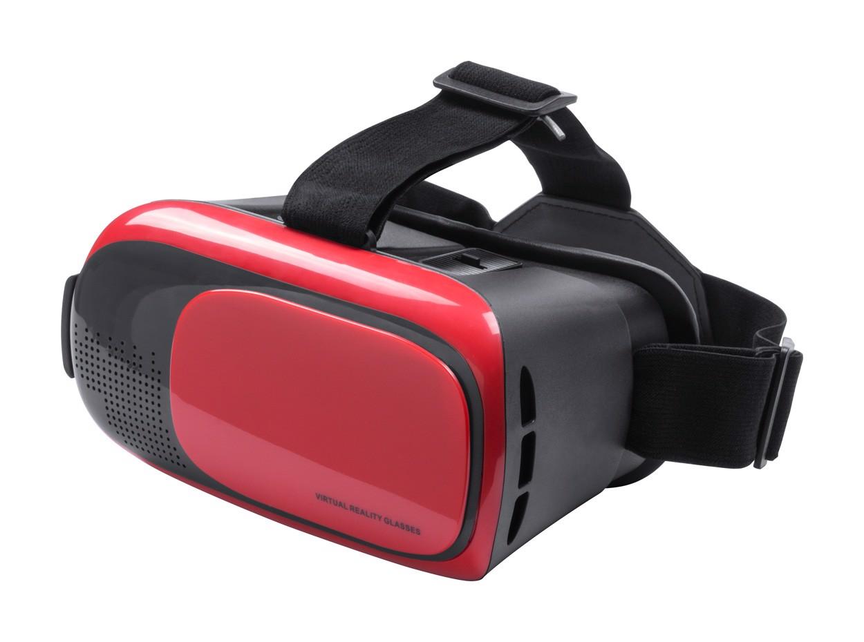 Ochelari Realitate Virtuală Bercley - Roșu / Negru