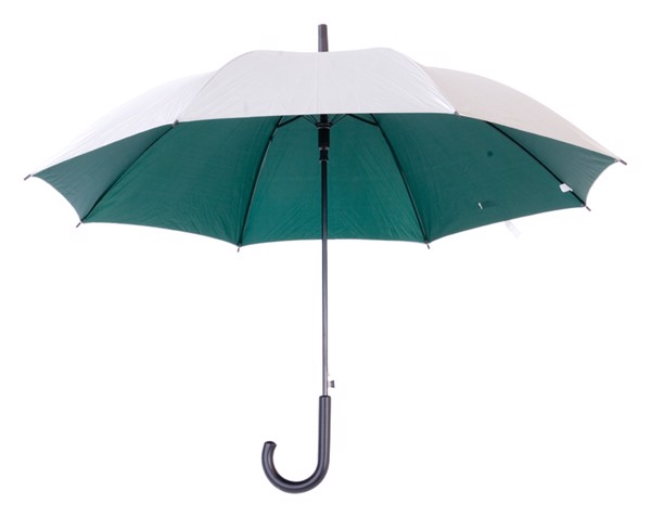 Umbrelă Cardin - Verde / Argintiu