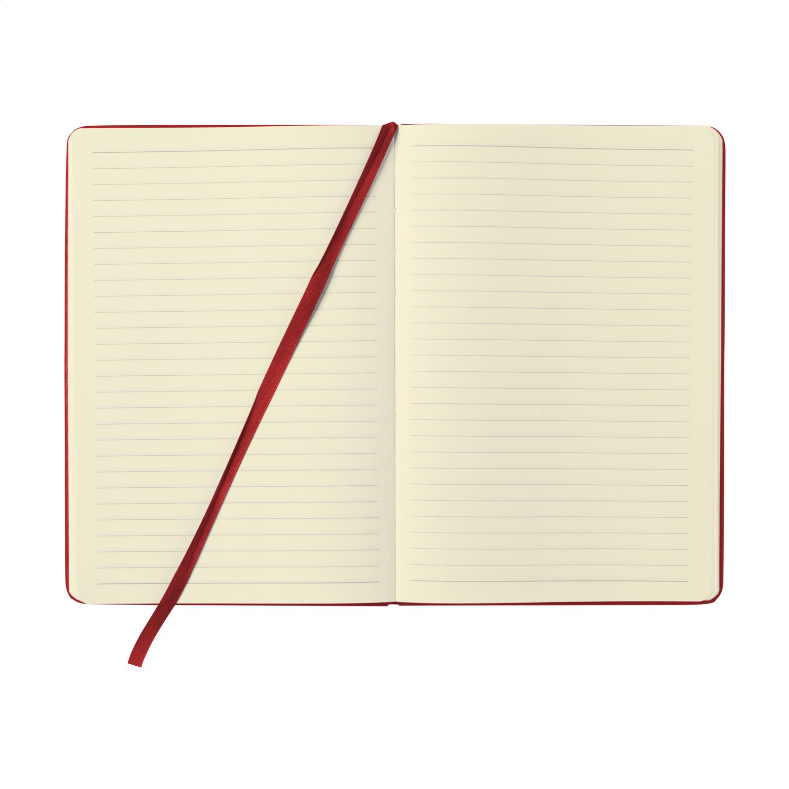 BudgetNote A5 Lines - Red