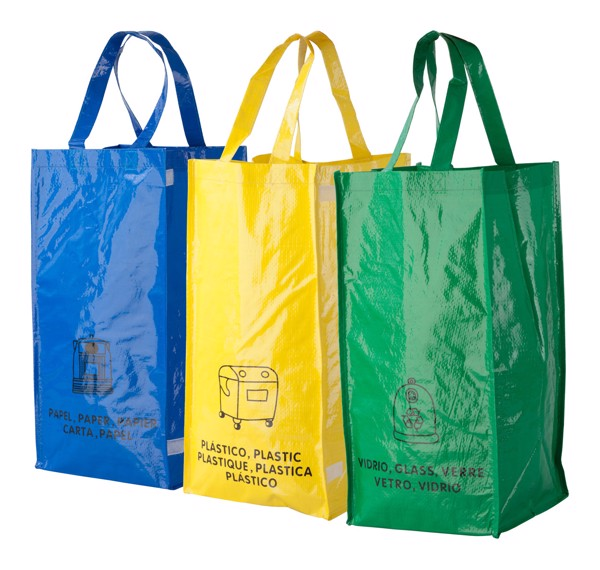 Waste Recycling Bags Lopack - Multicolour