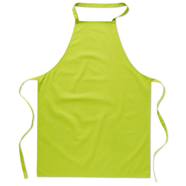 Kitchen apron in cotton Kitab - Lime