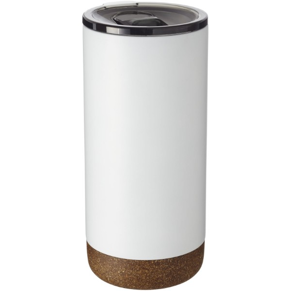 Valhalla 500 ml copper vacuum insulated tumbler - White