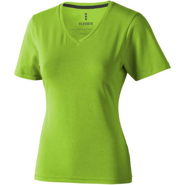 Dámské triko Kawartha s krátkým rukávem, organická bavlna - Bílá / XXL