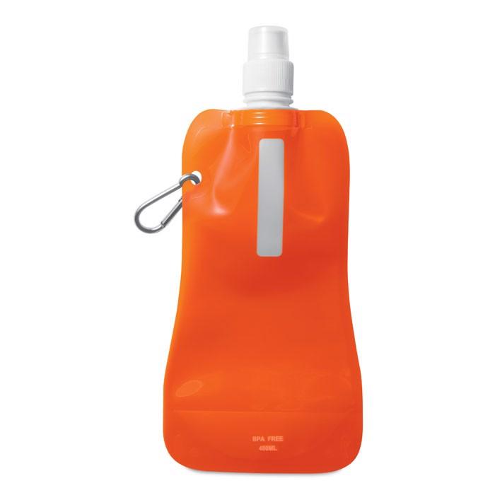 Butelka na wodę. Gates - przezroczysty pomarańczowy