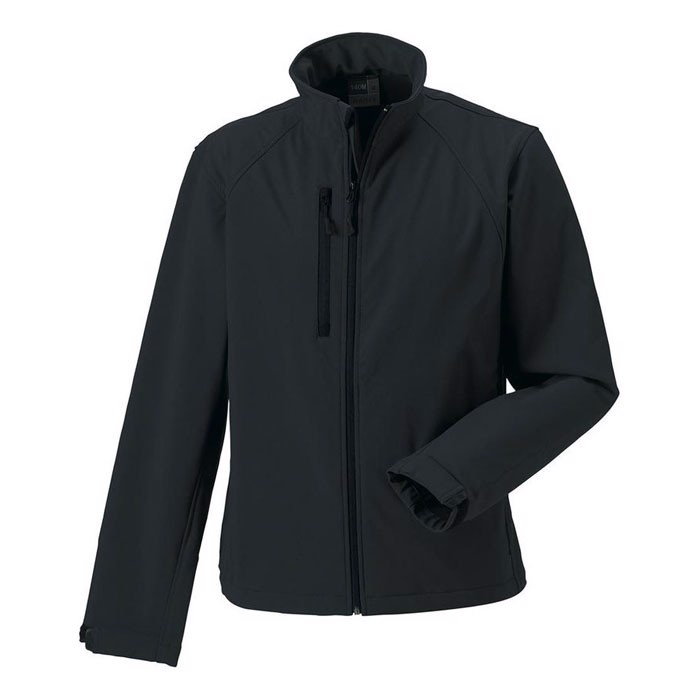 Men's Softshell 340 g/m2 Soft Shell Jacket R-140M-0 - Titanium / 3XL
