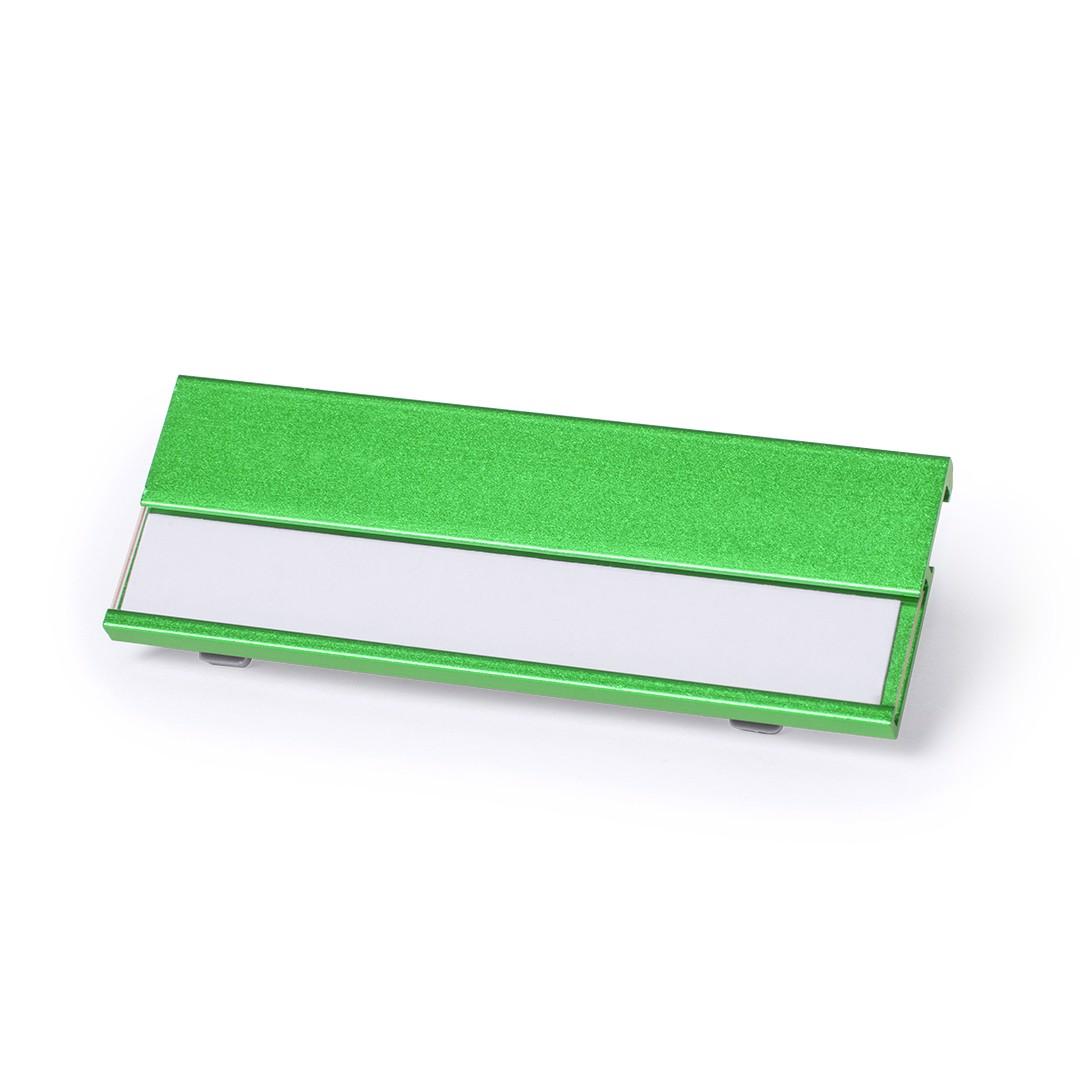 Identificador Bindel - Verde Claro