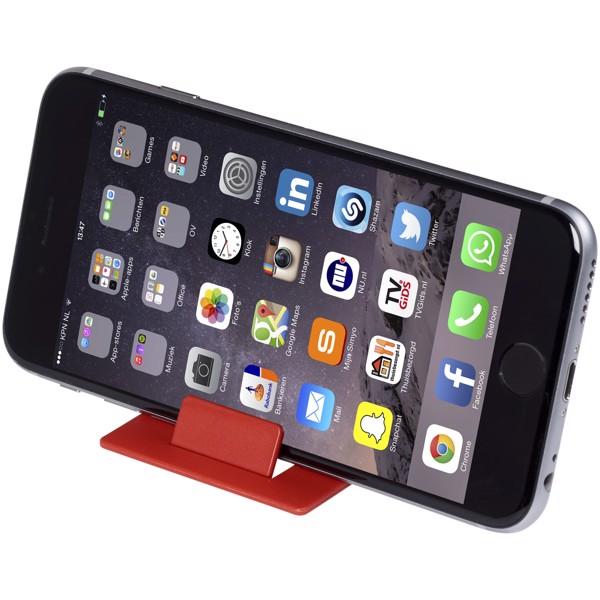 Hold skládací stojánek na telefon - Červená s efektem námrazy