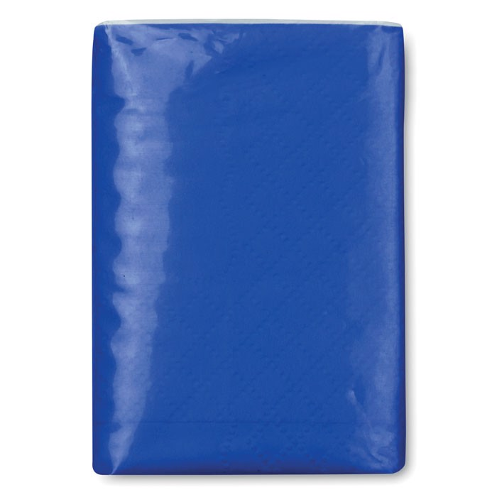 Mini tissues in packet Sneezie - Royal Blue