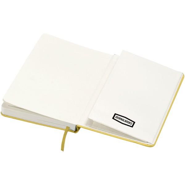 Poznámkový blok Classic A5 s pevnou obálkou - Žlutá