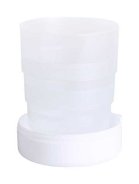 Foldable Cup Berty - White