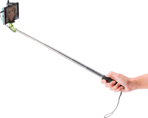ABS selfie stick - Lime
