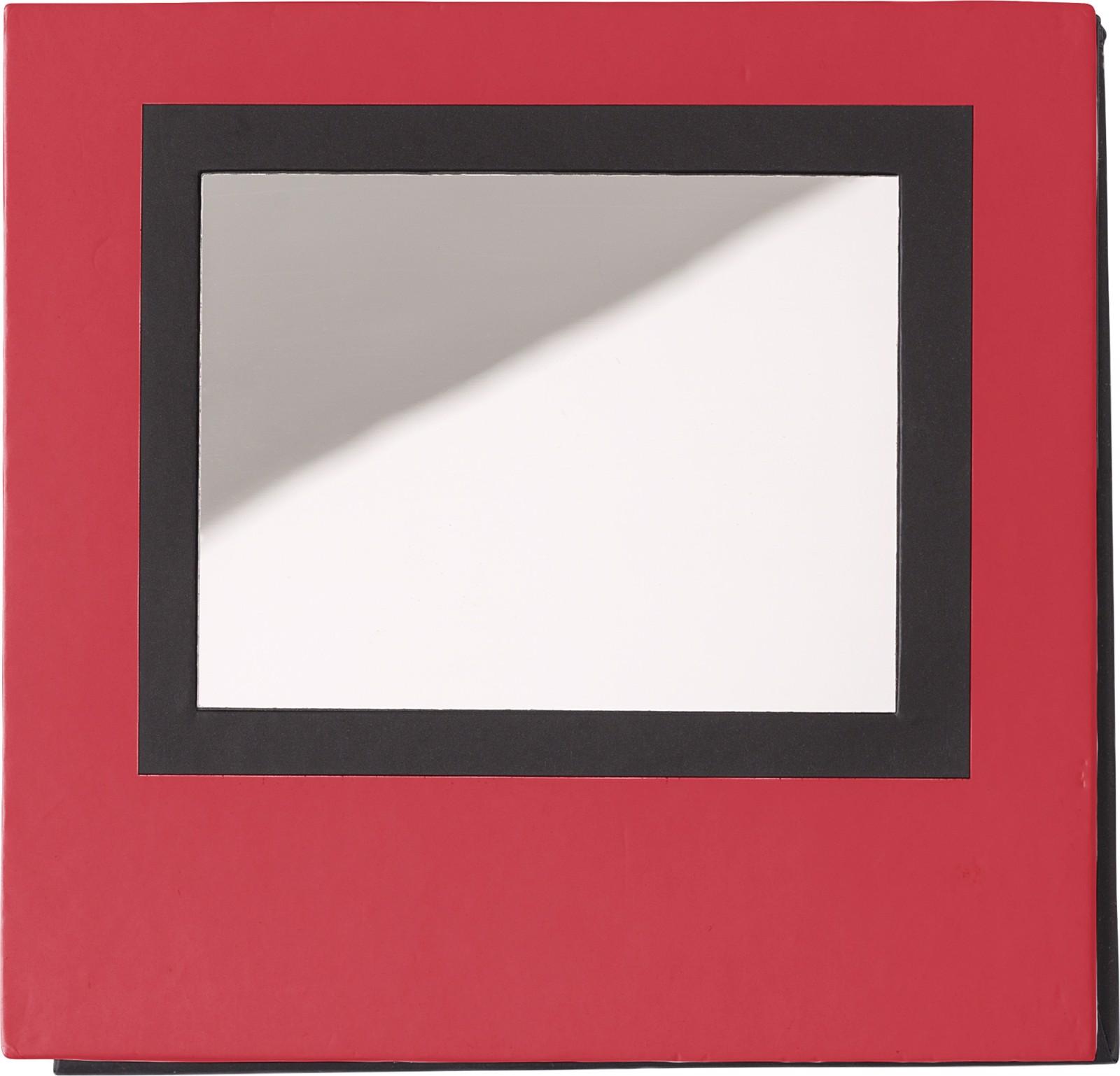Paper memo block - Red