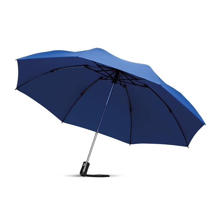 Foldable reversible umbrella Dundee Foldable - Royal Blue