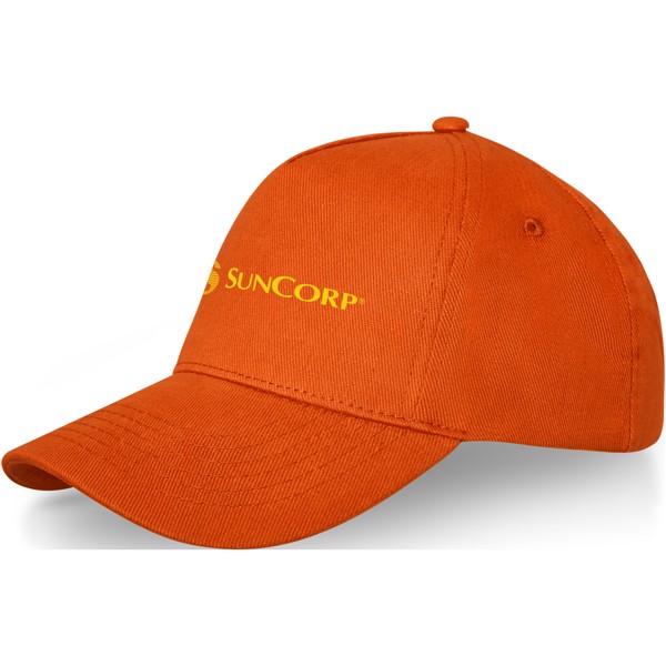 Doyle 5 panel cap - Orange
