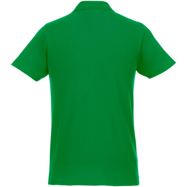 Helios short sleeve men's polo - Fern green / 3XL