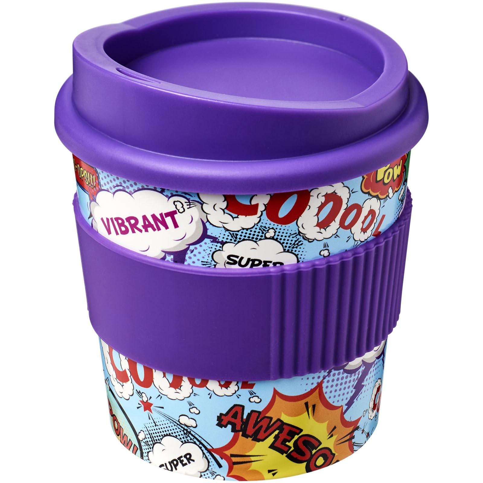Hrnek s rukojetí Brite-Americano® primo 250 ml - Purpurová