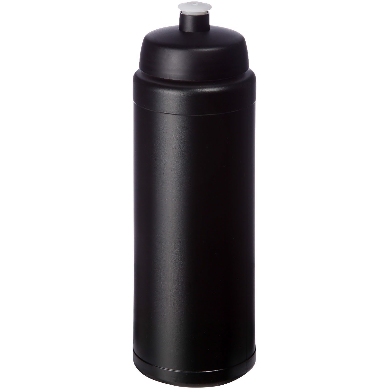 Baseline® Plus grip 750 ml sports lid sport bottle - Solid black