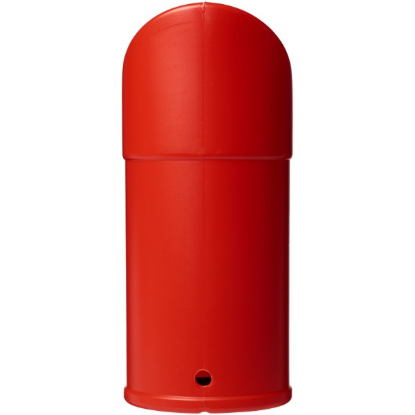 Heba plastic charity collector container - Red