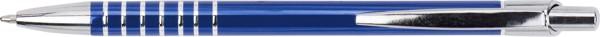Aluminum ballpen - Cobalt Blue