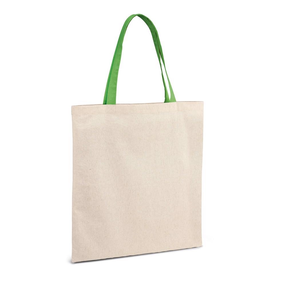 KOLONAKI. Bolsa de algodón 100% - Verde