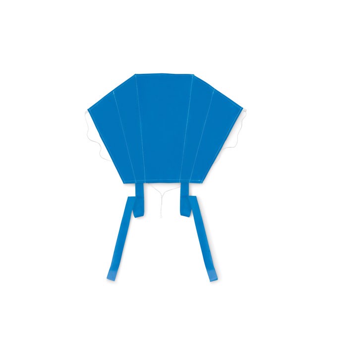 Kids kite in polyester pouch Fly - Royal Blue