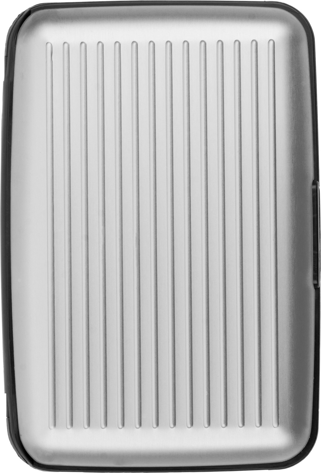Aluminium credit/business card case - Silver