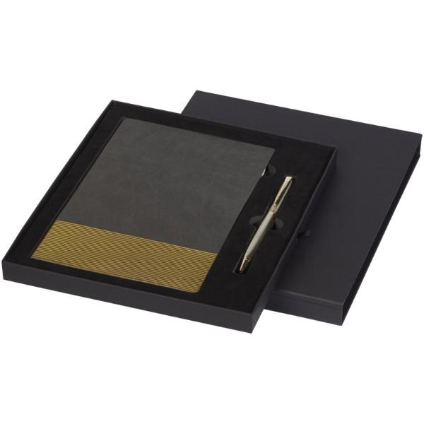 Midas zápisník a pero dárkový set - Šedá