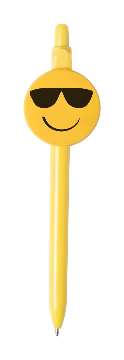 Kuličkové Pero Fricum - Žlutá