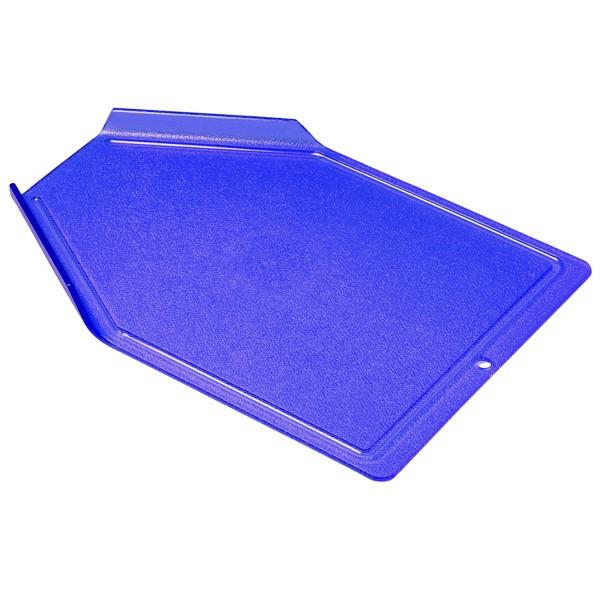 "Schneidbrett ""Plus"" - Trend-Blau Ps"
