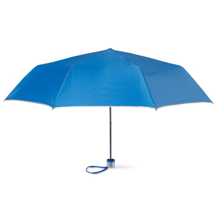 Parasol składany na 3 Cardif - niebieski