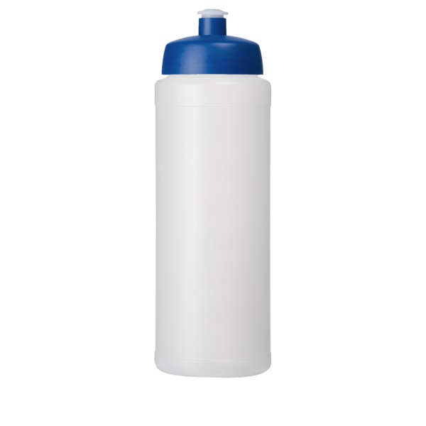 Baseline® Plus grip 750 ml sports lid sport bottle - Transparent / Blue