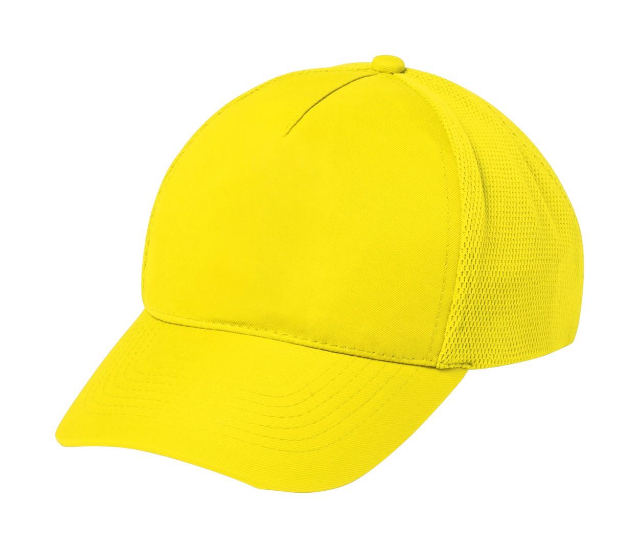 Baseballová Čepice Karif - Žlutá