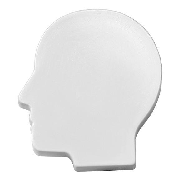 "Magnet ""Head"" - White"