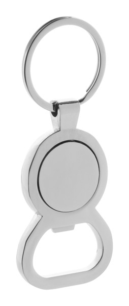 Obesek za ključe Ateca - srebrn