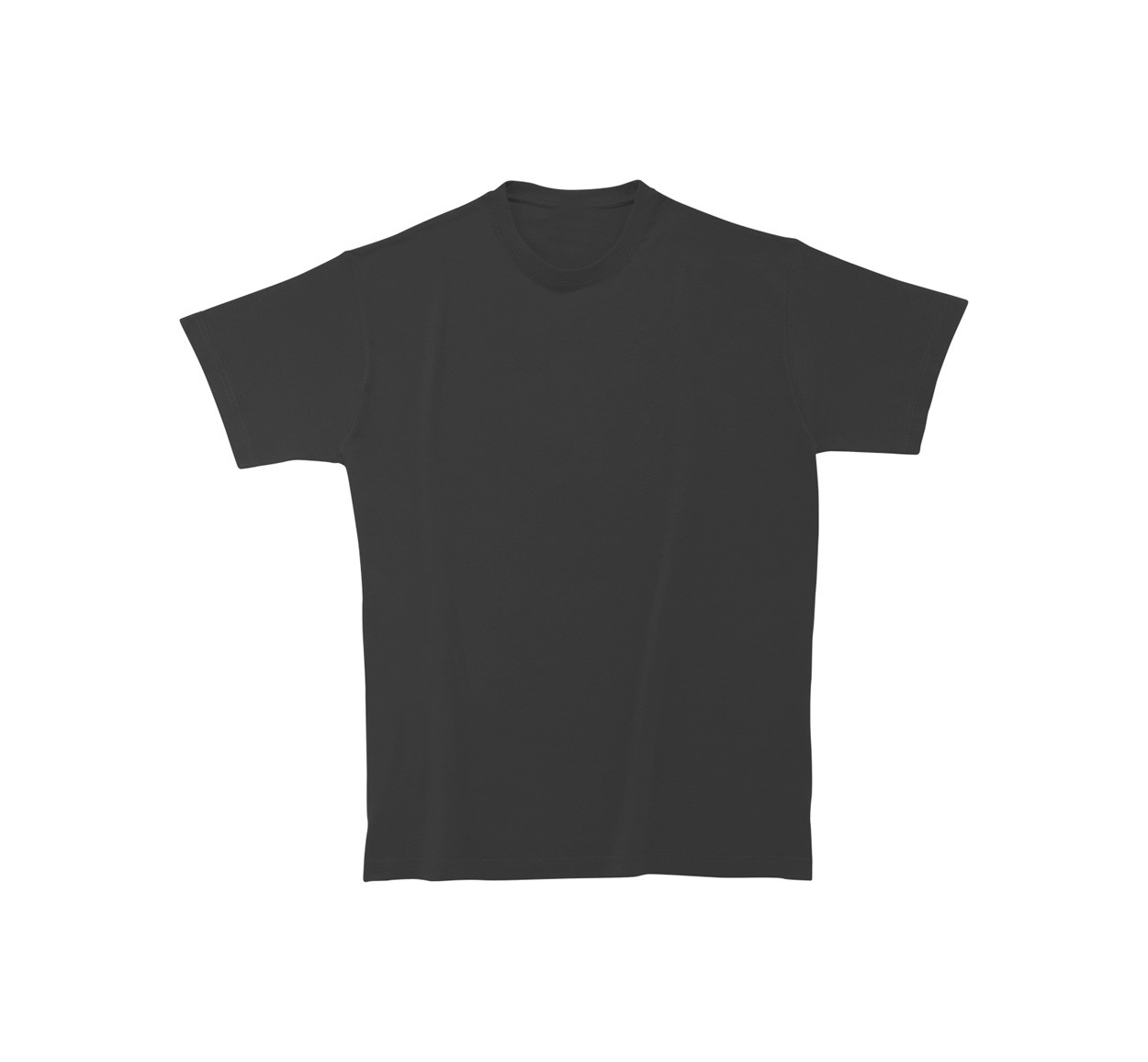 T-Shirt Heavy Cotton - Black / XXL