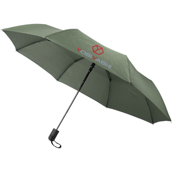 "Gisele 21"" heathered auto open umbrella - Hunter green"