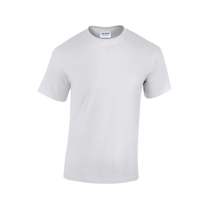 Tlusté tričko 185 g/m² Heavy T-Shirt 5000 - White / XL
