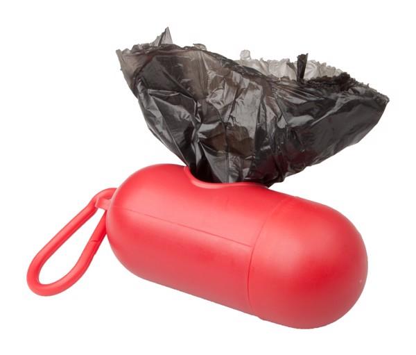 Dog Waste Bag Dispenser Yoan - Red