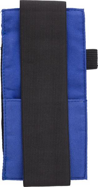 Oxford fabric (900D) notebook pouch - Cobalt Blue