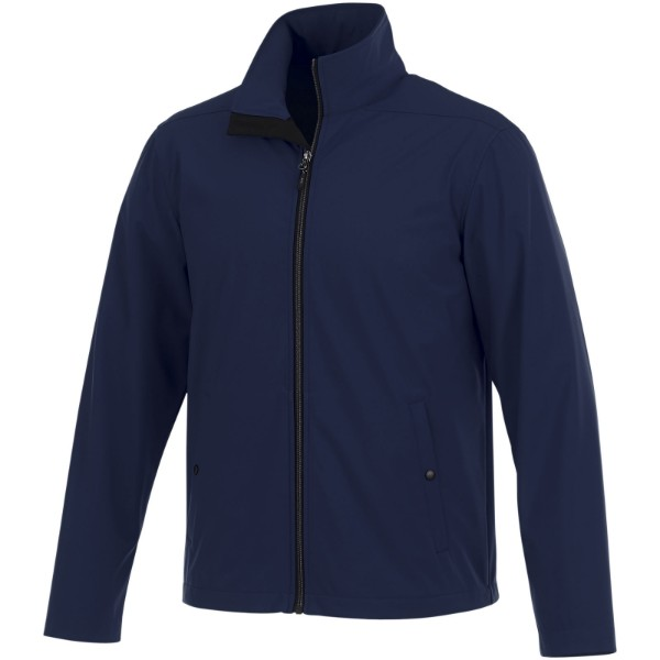 Karmine men's softshell jacket - Navy / XXL