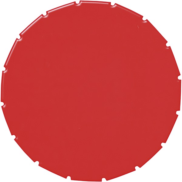 Clic clac čokoládky - Červená s efektem námrazy