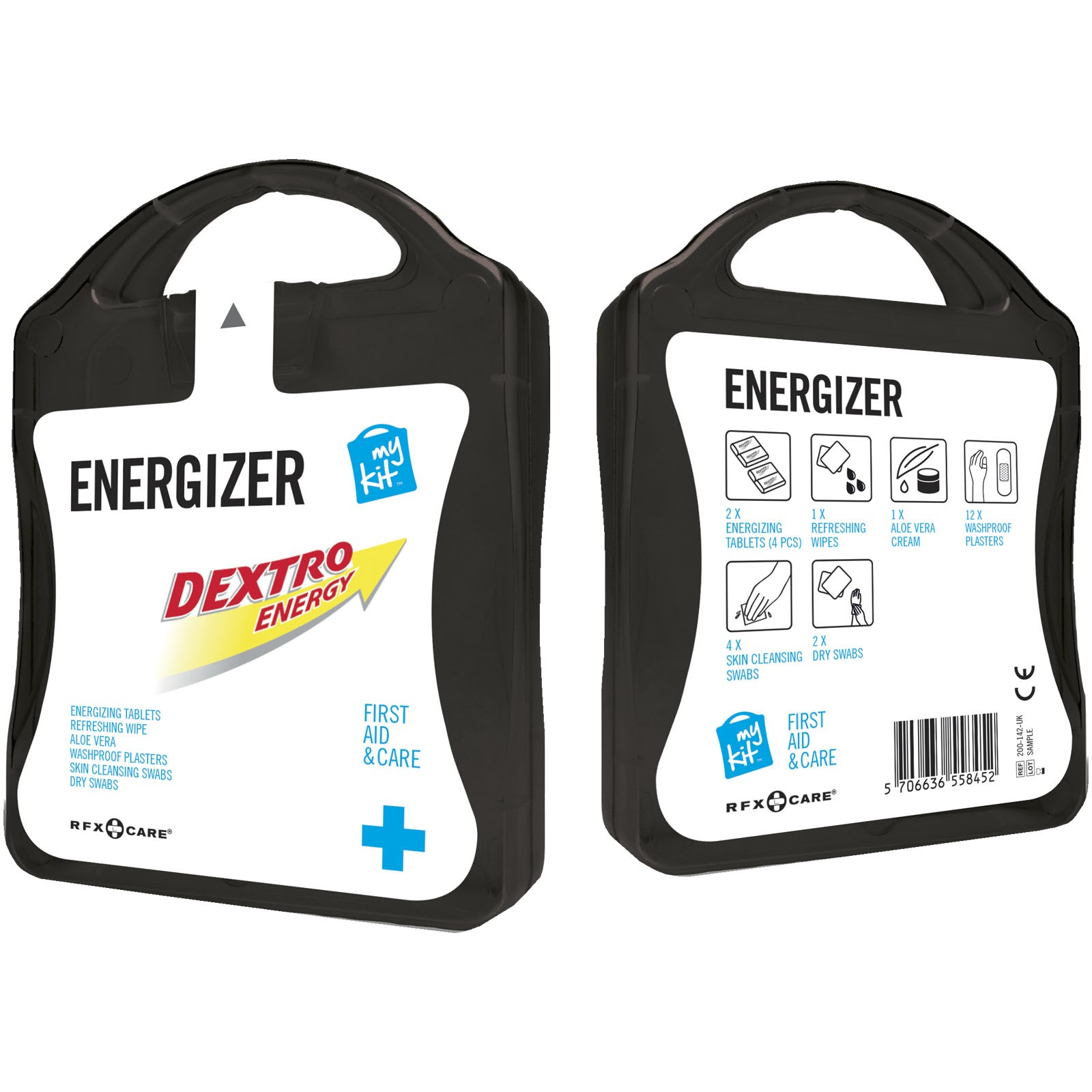MyKit Energiser Set - Solid Black