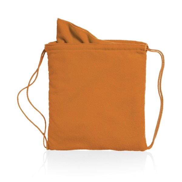 Drawstring Towel Bag Kirk - Orange