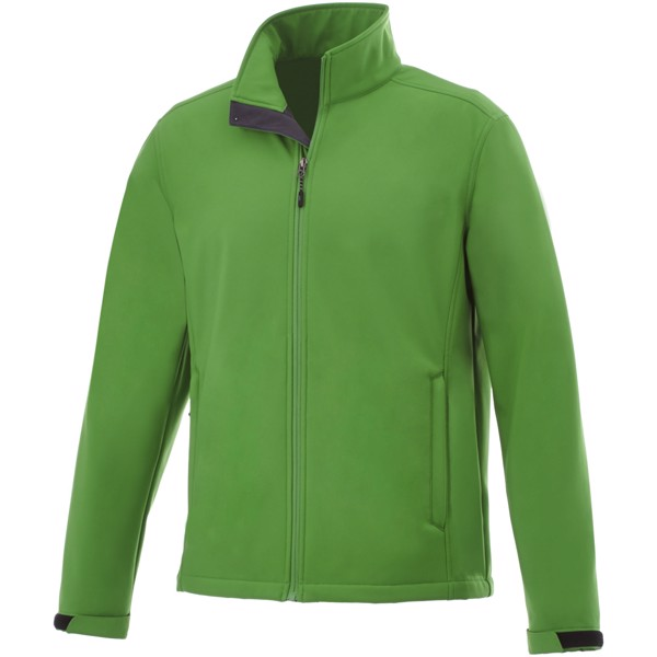 Maxson men's softshell jacket - Fern Green / L
