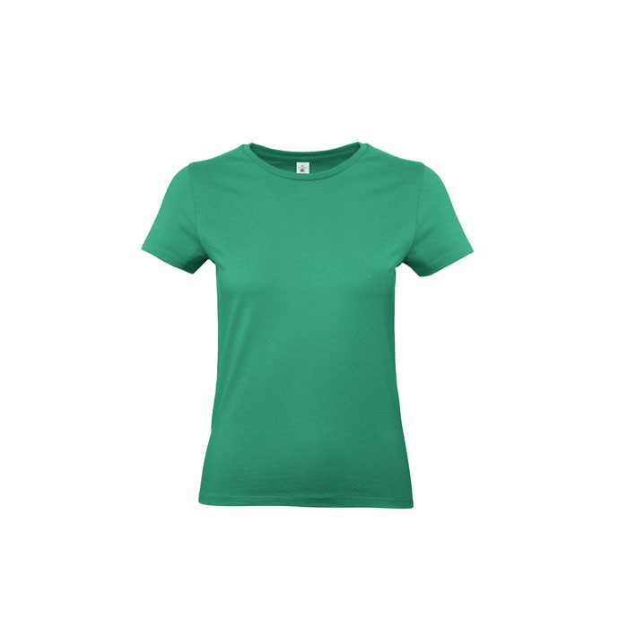 T-shirt female 185 g/m² #E190 /Women T-Shirt - Kelly Green / XS